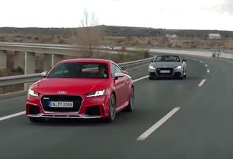 Audi TT RS: aantrekkelijk, ook om te horen #1