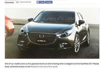 Mazda 3 : bientôt le restylage #1