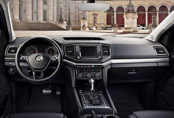 Volkswagen Amarok: opgefrist interieur   #1