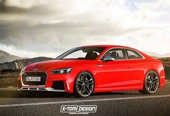Na A5 en S5 volgt de Audi RS5 #1