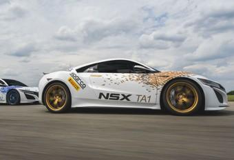 Meerdere NSX'en op Pikes Peak #1