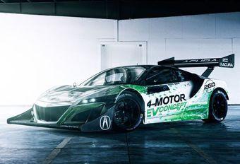 Honda doet Pikes Peak met elektrische NSX EV Concept #1