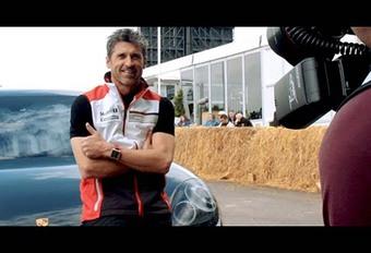 Porsche Panamera: Patrick Dempsey achter het stuur #1