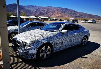Nieuwe Mercedes E-Klasse Coupé gespot! #1