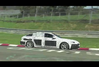 Toekomstige Opel Insignia: in ontwikkeling op de Nürburgring #1