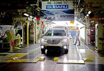 Drie miljoen Amerikaanse Subaru's #1
