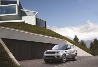 Viercilinder voor Range Rover Sport
