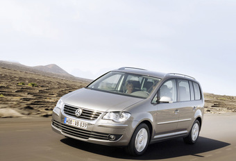 VW Touran facelift #1