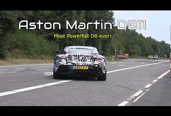 Aston Martin met V8 van AMG #1