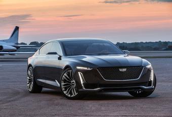 Imposante Cadillac Escala Concept toont nieuwe designrichting #1