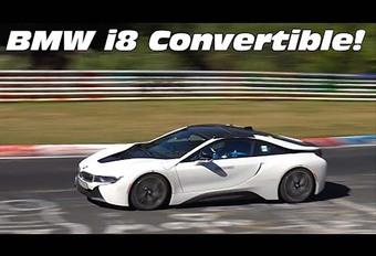BMW i8 : la Spyder roule déjà ! #1