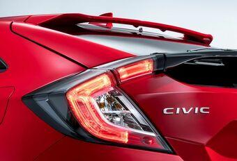 Honda Civic Hatchback en première mondiale à Paris #1