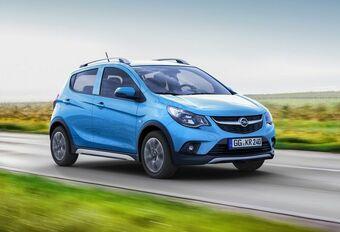 Opel Karl Rocks : baroudeuse d'entrée de gamme #1