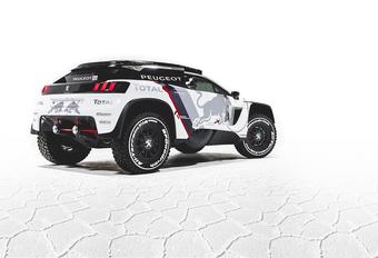 Peugeot naar Dakar 2017 met 3008 DKR #1