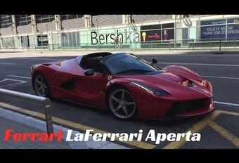 Vidéo - LaFerrari Aperta officieusement dévoilée   #1