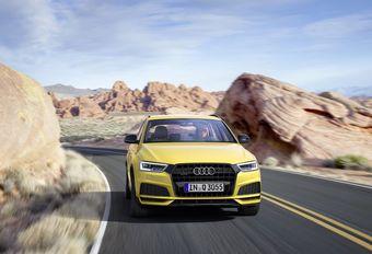 Audi Q3: opnieuw opgewaardeerd #1