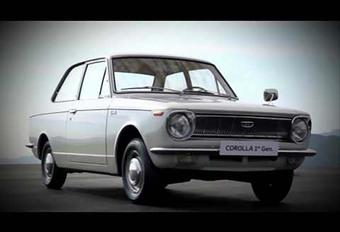Toyota viert vijftigste verjaardag van de Corolla  #1