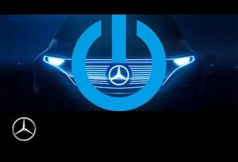 Teaser vidéo du SUV électrique de Mercedes #1