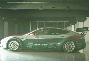Model S EGT : La première Tesla de compétition dévoilée #1