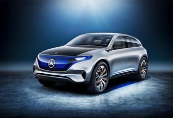 Mercedes Generation EQ Concept: Telsa Model X in het vizier... #1