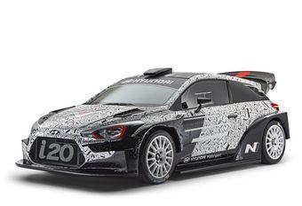 Toekomstige Hyundai i20 WRC: als prototype in Parijs #1