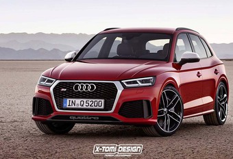 Audi Q5 : Comme ça la future RS ? #1