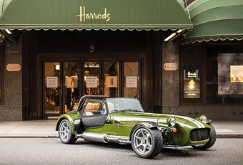 Caterham Signature: Harrods Seven in primeur #1