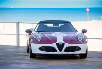 Alfa Romeo 4C Spider 'Edizione Corsa': 35 exclusieve exemplaren  #1
