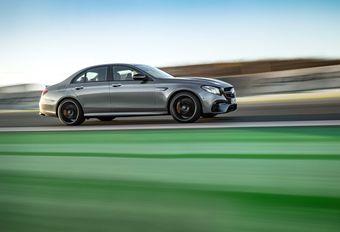 Mercedes-AMG E63 gaat loos #1