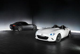 SEMA 2016: Mazda MX-5 Speedster Evolution en RF Kuro #1