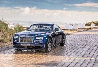 Rolls-Royce Wraith Week-end à la Mer : hommage à Knokke #1