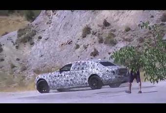Rolls-Royce : La future Phantom arrive en 2018 #1