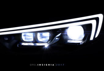 IntelliLux led-koplampen voor nieuwe Opel Insignia #1
