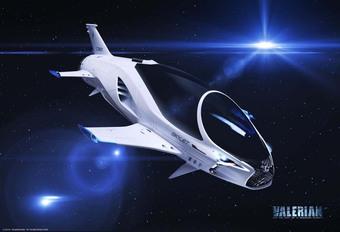 Lexus bedenkt ruimteschip voor Luc Besson #1