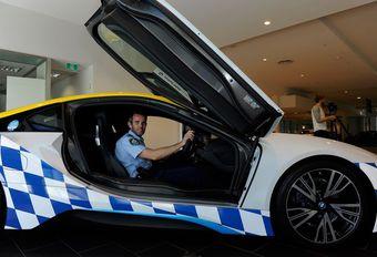 La police australienne en BMW… i8 ! #1
