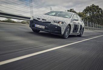 Opel Insignia Grand Sport : 175 kg en moins #1