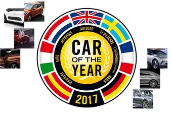 En dit zijn de finalisten van de Car of the Year 2017-verkiezing #1