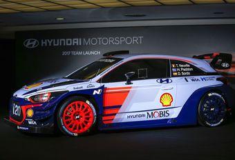 Hyundai i20 WRC 2017 op het salon van Brussel #1