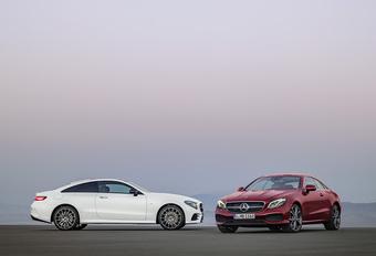 Mercedes is ook klaar met nieuwe E-Klasse Coupé #1