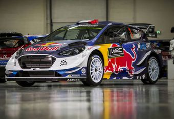 La Ford Fiesta WRC de Sébastien Ogier #1
