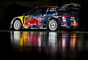 De nieuwe Red Bull-rallykleren van Sébastien Ogier #1