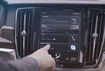 Skype à bord des Volvo Série 90 #1
