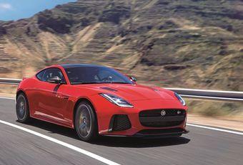 Jaguar F-Type facelift als wereldpremière in Brussel #1