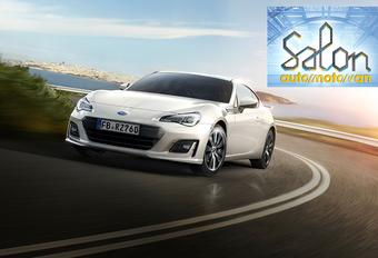 Autosalon Brussel 2017: Subaru (paleis 7) #1