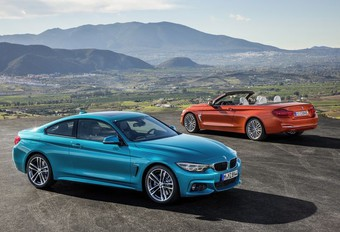 BMW 4-Reeks: esthetisch bijgewerkt #1
