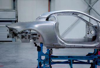 Alpine naar Genève met aluminium #1