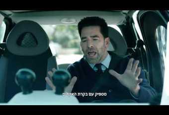 Alfa lacht in een reclamefilmpje met zelfstandige auto's  #1
