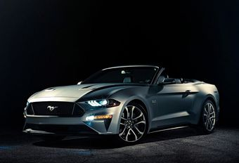 Ford Mustang Cabriolet facelift #1