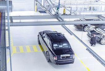 La dernière Rolls-Royce Phantom VII a quitté la ligne de production #1