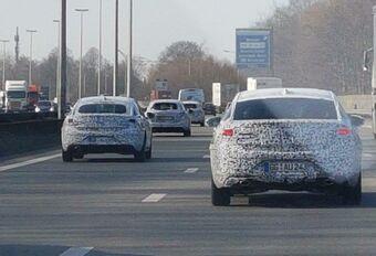Konvooi van Opel Insignia's op de Ring rond Brussel #1